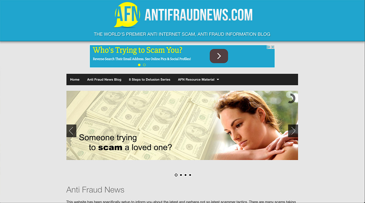 antifraud web design