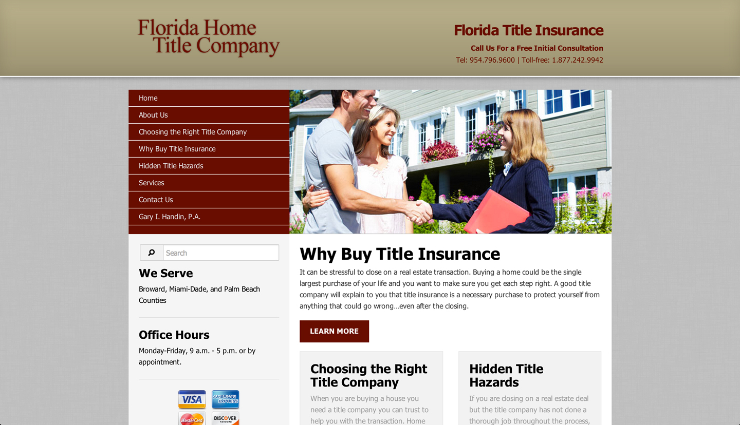 FL Home Title - Connectica
