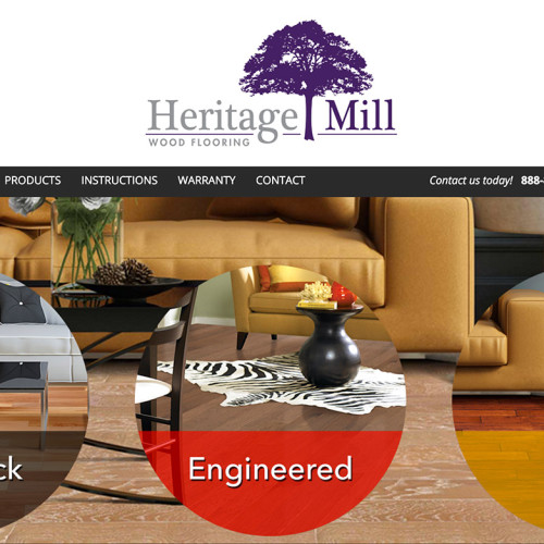 heritage mill web design