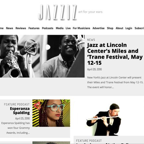 jazzizmag-web-design