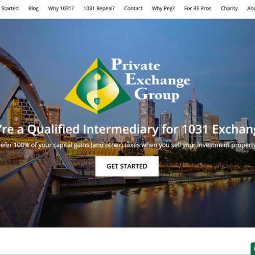 Private Exchange Group Web Design