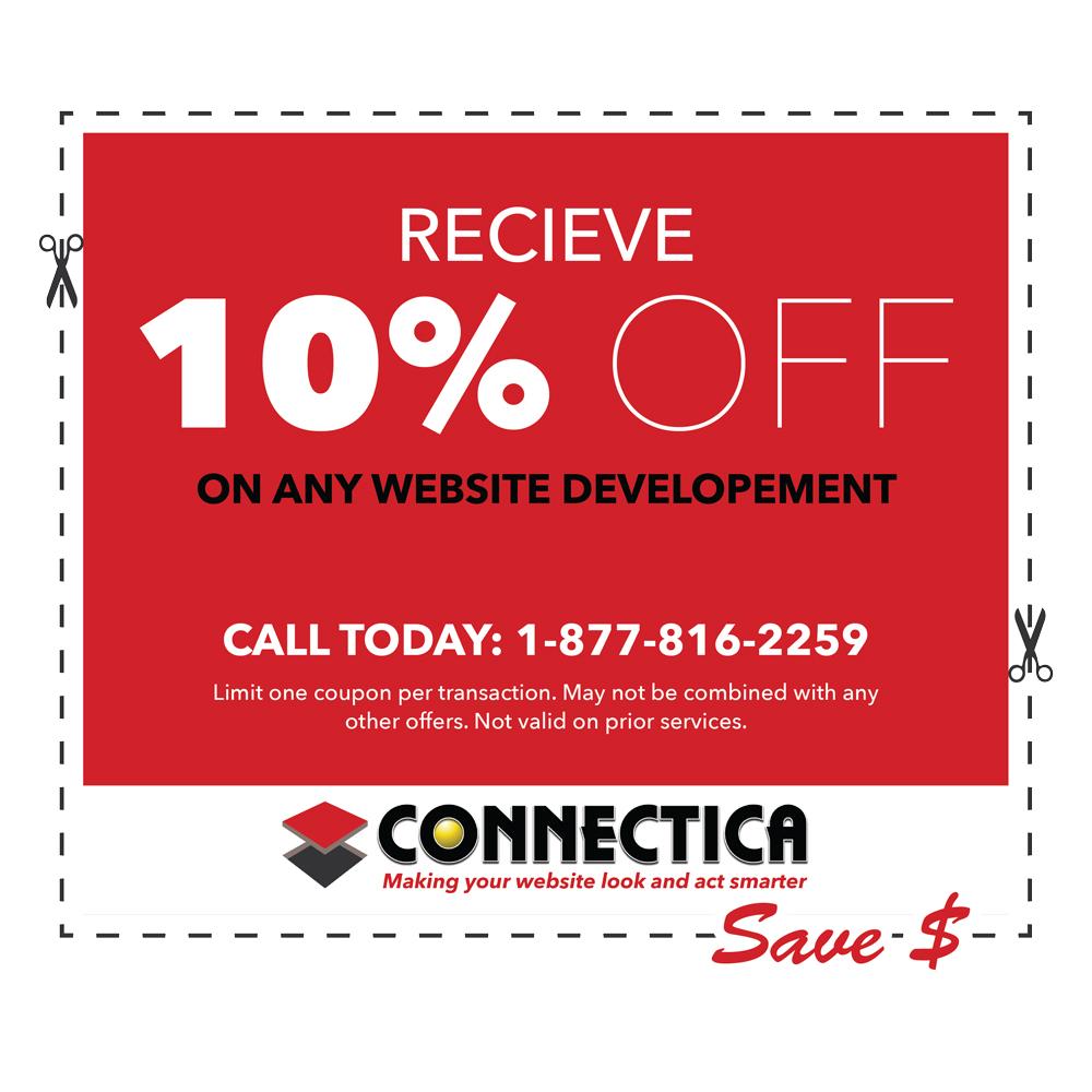 connectica coupons 2017 web design connectica