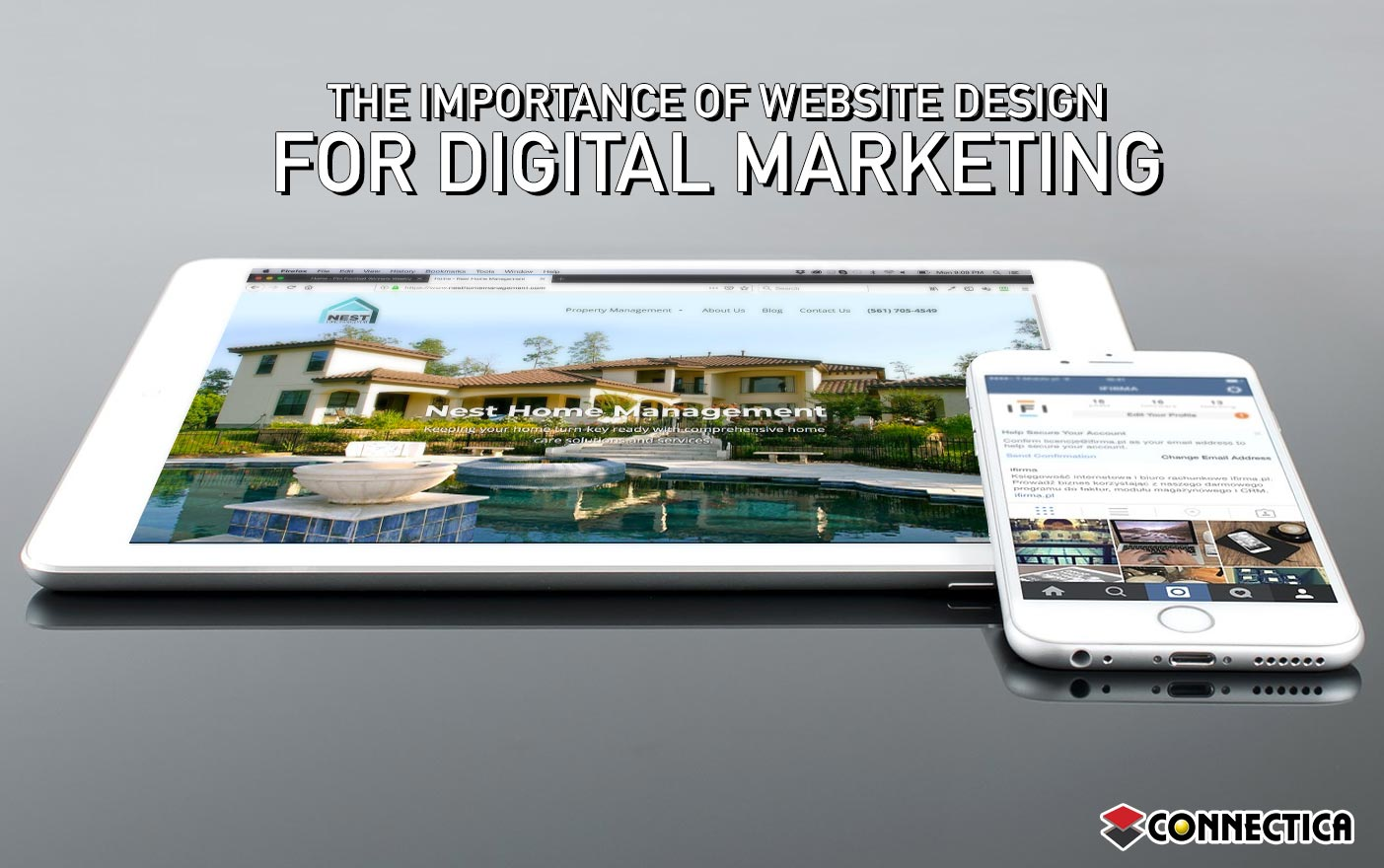 web design for digital marketing