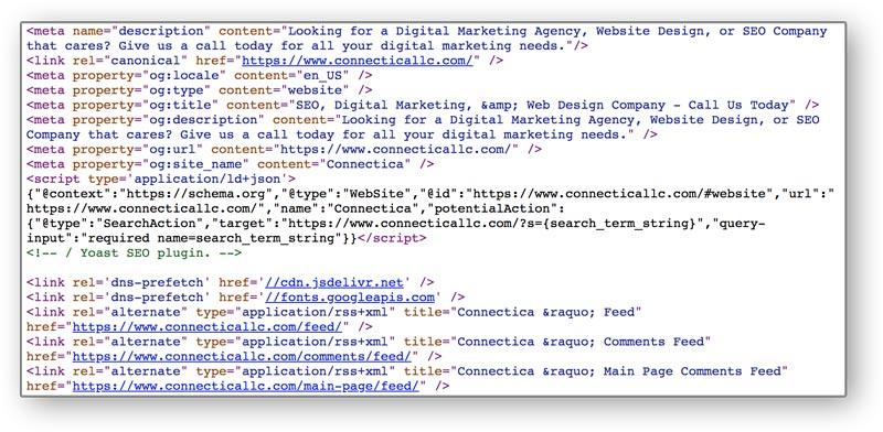 Schema HTML Markup