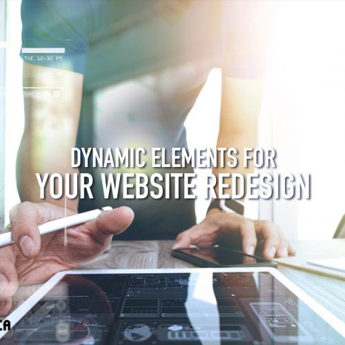 Dynamic Elements For Your Website Redesign