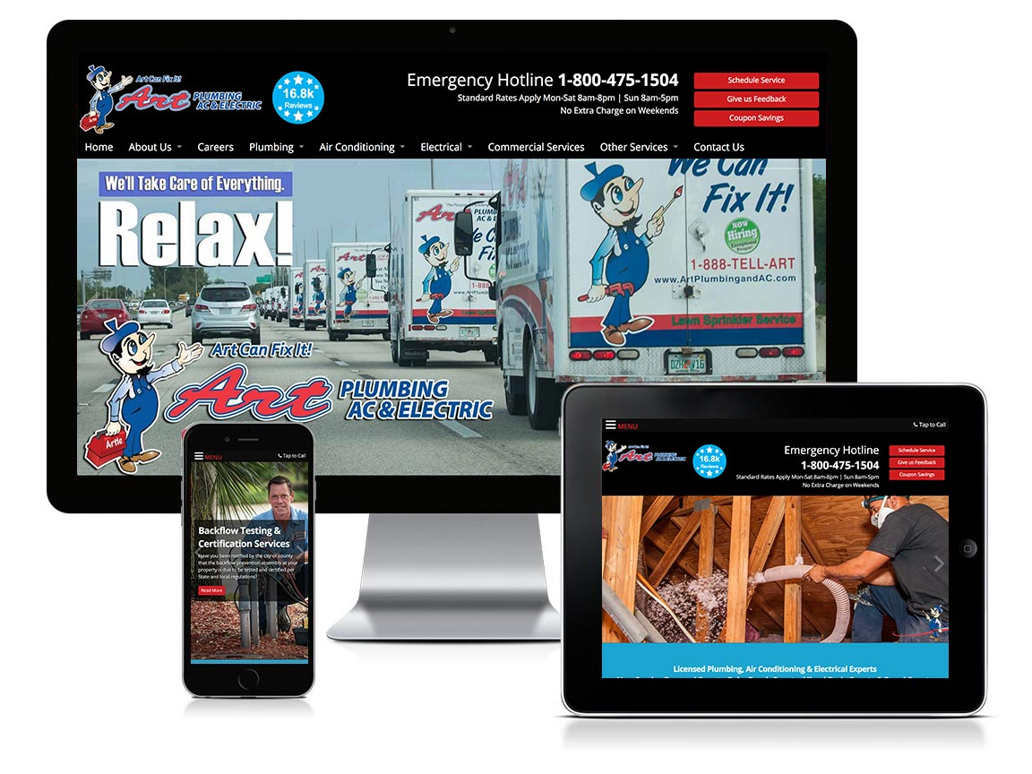 responsive website design fort lauderdale