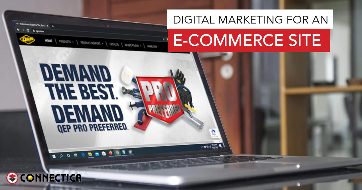 Digital Marketing For An E-Commerce Site