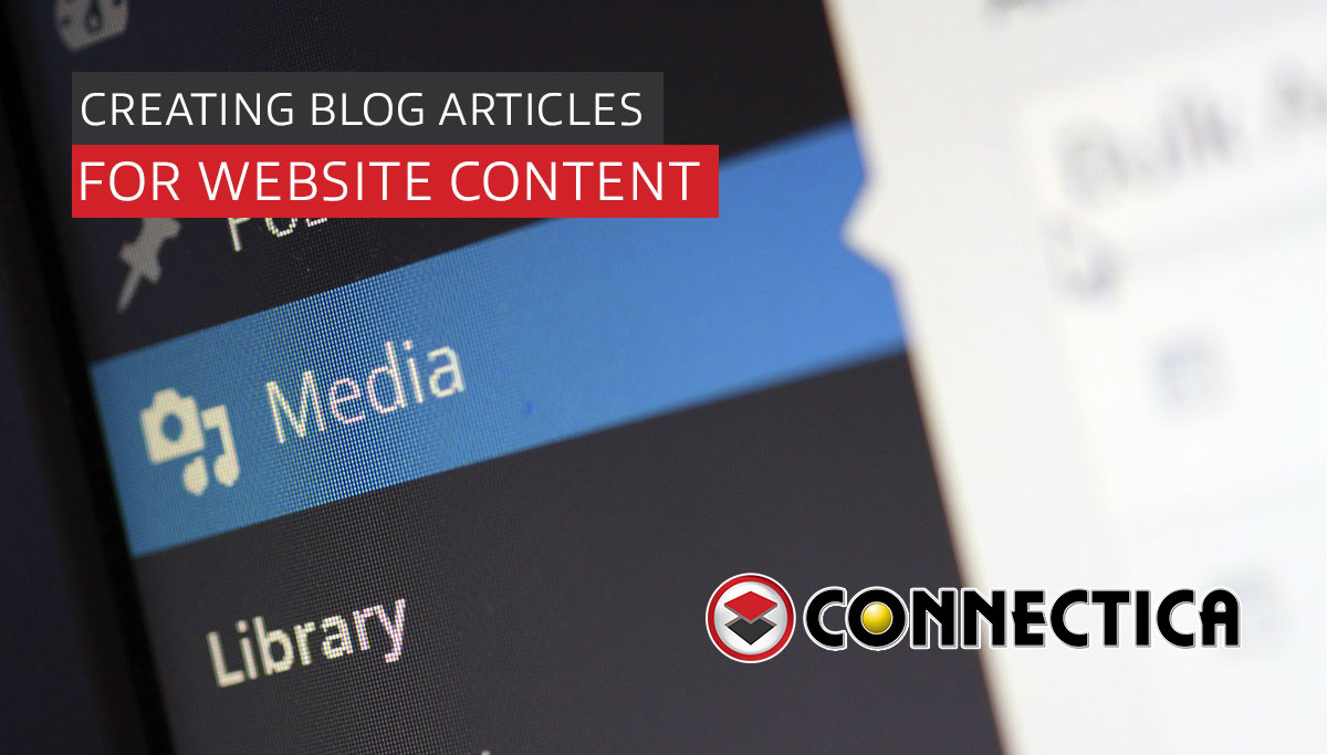 Creating Blog Articles For Website Content